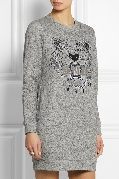 kenzo tiger embroidered sweater dress.jpg 2