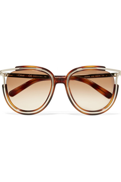 Chloe 79s Gold Frame Sunglasses : Sunglasses THE UNTITLED BOUTIQUE