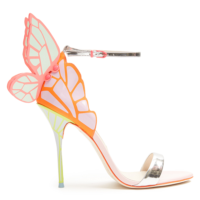 1075fd9e64 SOPHIA WEBSTER – CHIARA BUTTERFLY-WING LEATHER SANDALS | THE ...