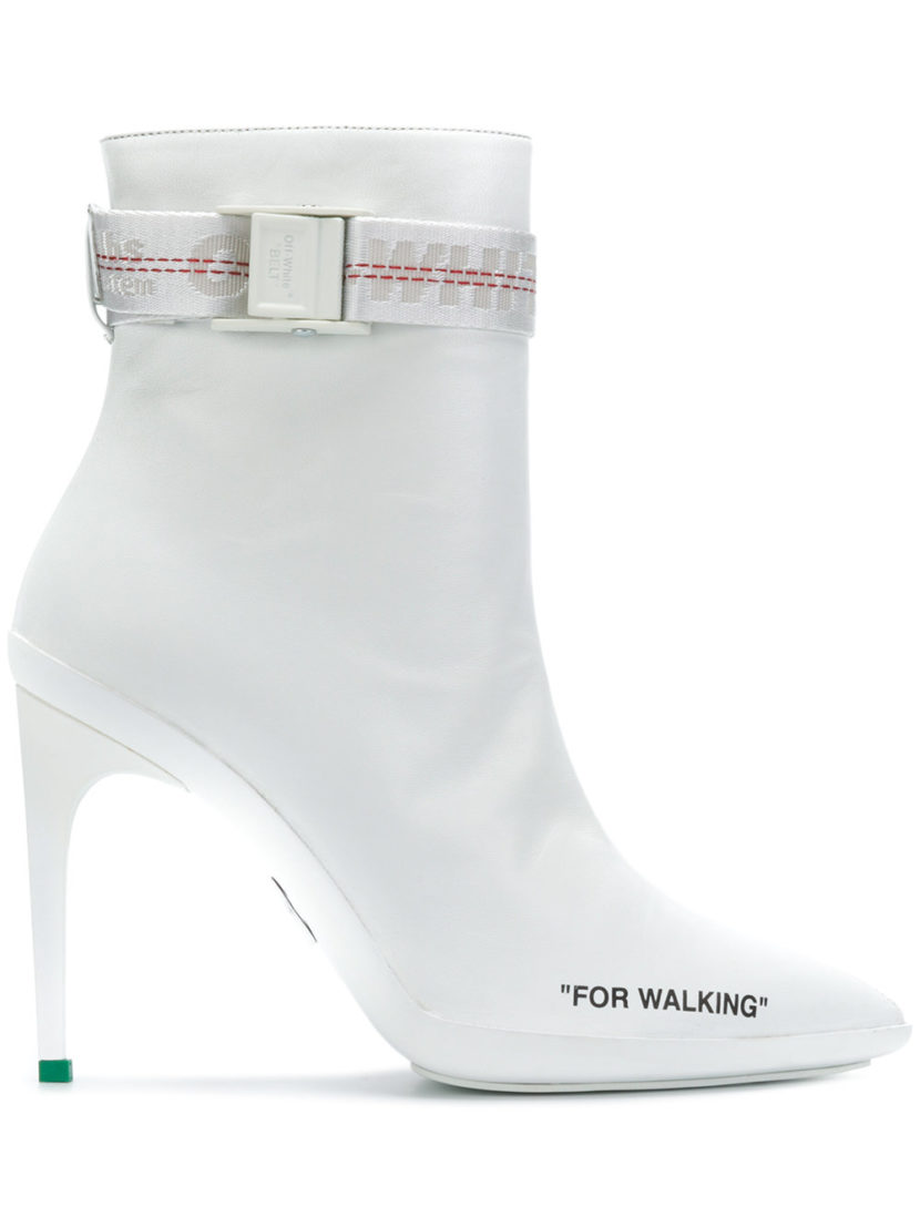 OFF-WHITE – FOR WALKING ANKLE BOOTS